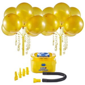 Bunch O Balloons Party - Starter Set, Luftballons + Luftballonpumpe Gold