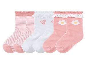 LUPILU® 3 Paar Kleinkinder Mädchen Socken