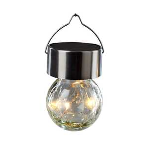 LED-Hängekugel in Warmweiß, ca. 6x6x10cm