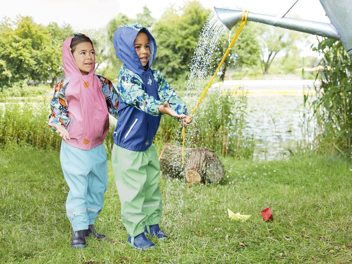 Bild 4 von LUPILU® Kleinkinder Jungen Blinkregenstiefel