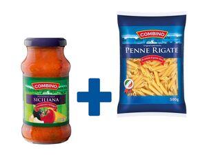 1x Pastasauce + Gratis 1x Pasta