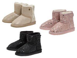 PEPPERTS® Kinder Mädchen Lammfellstiefel