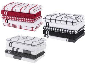 MERADISO® Geschirr- und Handtuchset Baumwolle