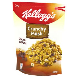 Kelloggs Knusper Müsli Choco & Nuts 500 g