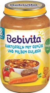 Bebivita Kartoffeln mit Gemüse und mildem Gulasch ab 8. Monat 220 g