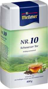 Meßmer Schwarztee Assam und Ceylon Nr. 10 lose 400 g