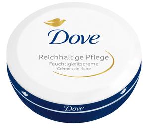 Dove Feuchtigkeitscreme Reichhaltige Pflege 150 ml