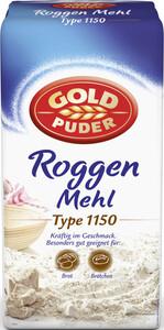 Goldpuder Roggenmehl Type 1150 1 kg