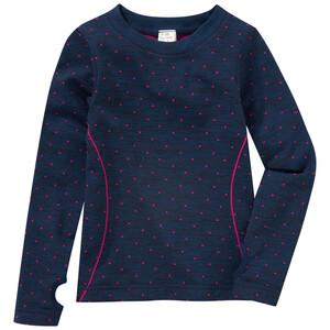 Mädchen Sport-Unterhemd mit Punkte-Allover