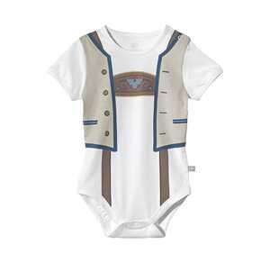 Baby-Jungen-Trachten-Body mit schöner Weste