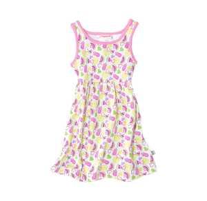 Baby-Mädchen-Kleid mit frischen Früchten
