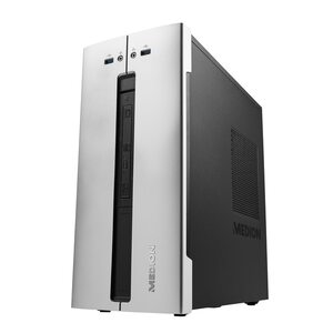 MEDION AKOYA® E63001, Intel® Core™ i5-9400, Windows10Home, 256 GB SSD, 1 TB HDD, 16 GB RAM, Multimedia PC