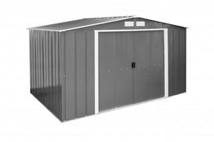 Tepro Metallgerätehaus Eco Shed 10x8 ,  322,1 x 242,2 x 196,1 cm (BxTxH)
