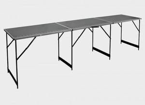 Tapeziertisch Deco Prince ,  300x60x78cm, Aluminium