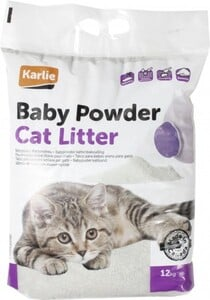 Karlie Katzenstreu Babypuderduft ,  12 kg