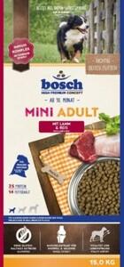Bosch Mini Adult Lamm & Reis ,  Inhalt: 15 kg