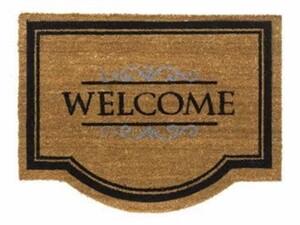 Fußmatte Coco Classic Welcome ,  natur: 60 x 80 cm