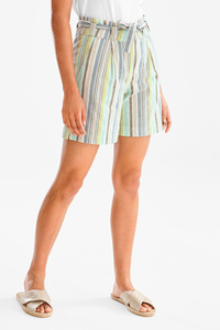 Yessica         Shorts - gestreift