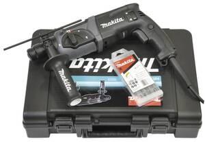Bohrhammer HR2470BX40 inklusive 13-teiligem Bohrer- und Meißelsatz Makita