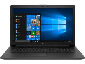 HP 17-ca0314ng, Notebook mit 17.3 Zoll Display, A6 Prozessor, 8 GB RAM, 256 GB SSD, Radeon R4, Schwarz