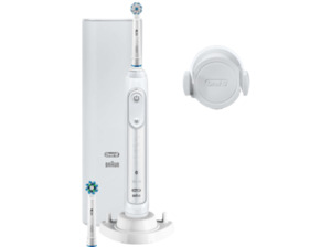 ORAL-B Genius 10100S, Elektrische Zahnbürste, Weiß