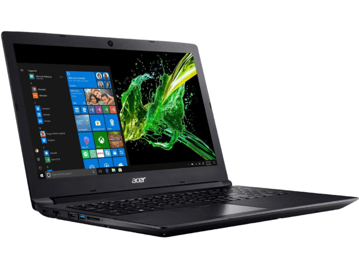 Bild 3 von ACER Aspire 3 (A315-41G-R8M5), Notebook mit 15.6 Zoll Display, Ryzen 7 Prozessor, 8 GB RAM, 256 GB SSD, 1 TB HDD, Radeon™ 535, Schwarz
