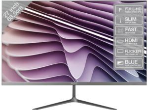 PEAQ PMO Slim S270  Full-HD Monitor (5 ms Reaktionszeit, 60 Hz)