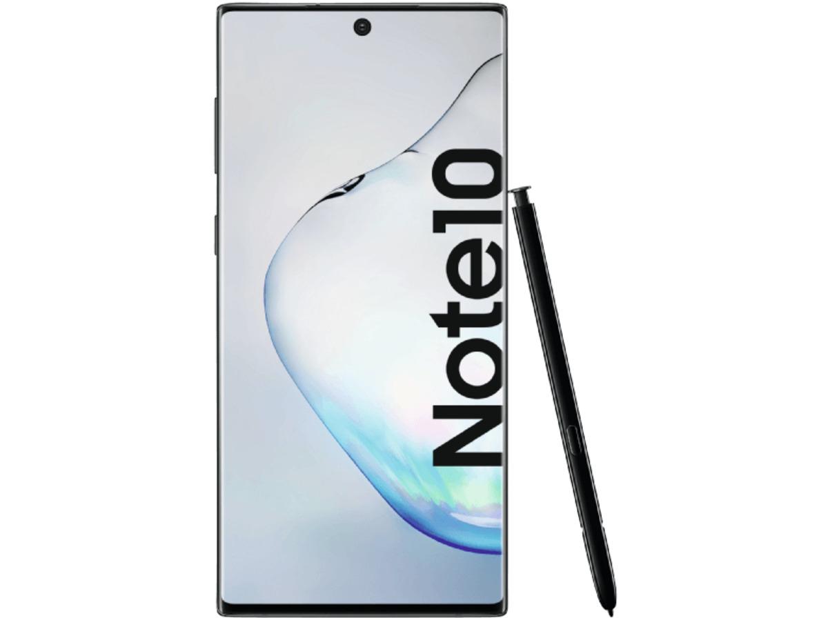 Bild 1 von SAMSUNG Galaxy Note10, Smartphone, 256 GB, Aura Black, Dual SIM