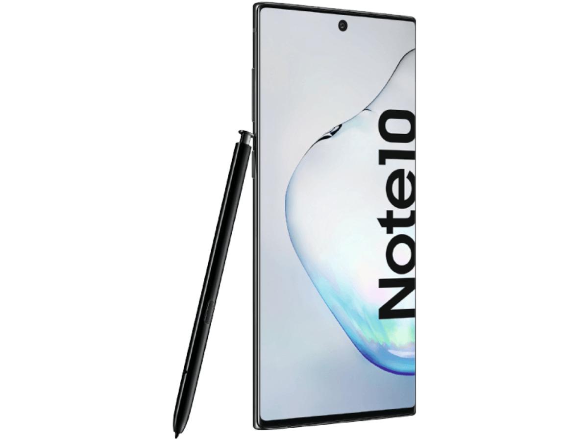 Bild 4 von SAMSUNG Galaxy Note10, Smartphone, 256 GB, Aura Black, Dual SIM