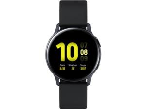 SAMSUNG Galaxy Watch Active2 Aluminium 40mm AB, Smartwatch, Fluorkautschuk, S/M, Aqua Black