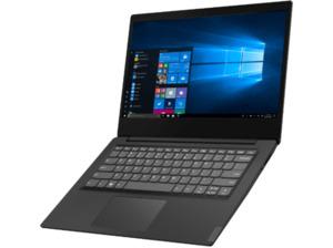 LENOVO IdeaPad S145, Notebook mit 14 Zoll Display, Celeron Prozessor, 4 GB RAM, 128 GB SSD, Intel UHD Grafik 610, Schwarz