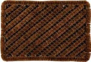 Drahtgitter Kokosfußmatte ,  natur, 40 x 60 cm
