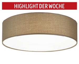casalux  Textile LED-Deckenleuchte