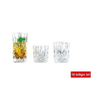 Nachtmann Becher Set NOBLESSE 18-teilig Glas