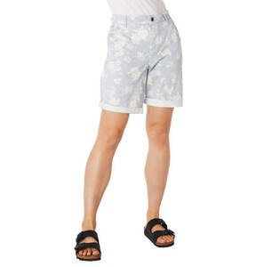 edc             Shorts, Mustermix, gestreift, floraler Print, Baumwoll-Stretch