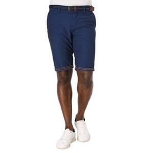 TOM TAILOR             Shorts, Flechtgürtel, Kontrast-Naht, Baumwoll-Stretch