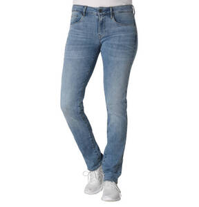 "G-Star RAW             Jeans ""3301 Deconst Mid Straight Wmn"", Super-Stretch"