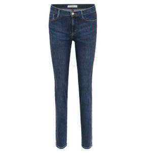 """BRAX             Jeans """"Shakira"""", Skinny Fit, Vintage Denim, Seitenstreifen, unifarben"""