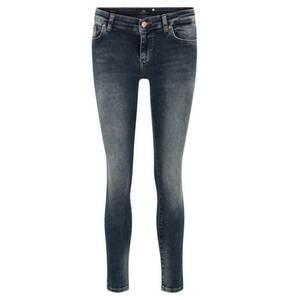 "LTB             Jeans ""Mina"", 7/8-Länge, Skinny Fit, Used-Waschung, Stretch"
