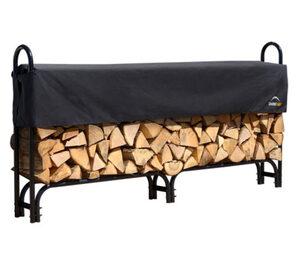 Shelterlogic-Kamin-Holzregal, ca. 240 cm