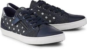 Sneaker J Gisli G. C von Geox in blau für Mädchen. Gr. 28,30,31,35,36