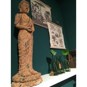 XXXL Buddha ca. 74x24cm, Braun