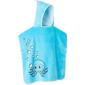 Surf-Poncho Octo Kinder 110125 cm blau