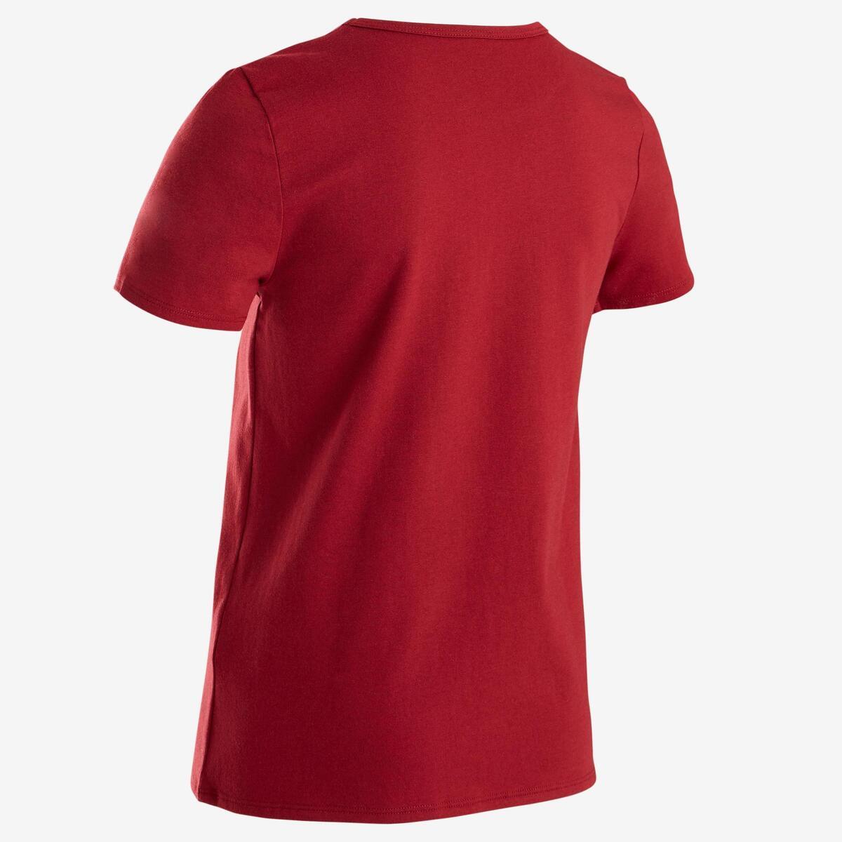 Bild 3 von T-Shirt 100 Gym Kinder rot mit Print