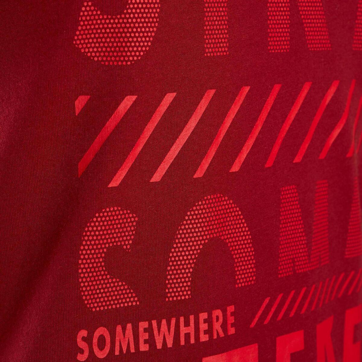 Bild 4 von T-Shirt 100 Gym Kinder rot mit Print