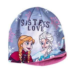 Frozen Mädchen-Mütze mit warmem Futter