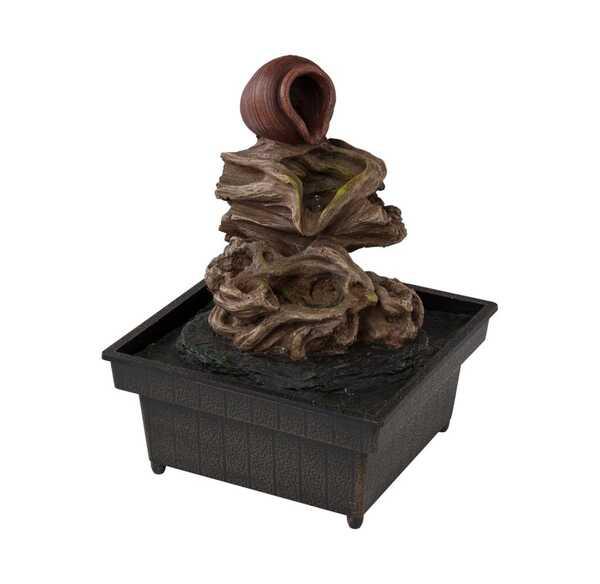 Wasserbrunnen für den Tisch, ca. 18cm