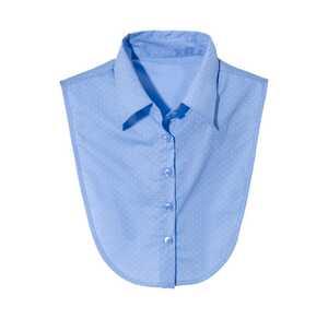 Damen-Blusenkragen mit tollem Muster
