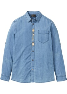 Jeans-Trachtenhemd