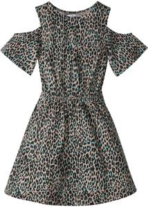 Mädchen Cold-Shoulder-Kleid